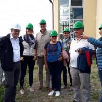 Mitglieder des SPD-Ortsvereins bei der Führung